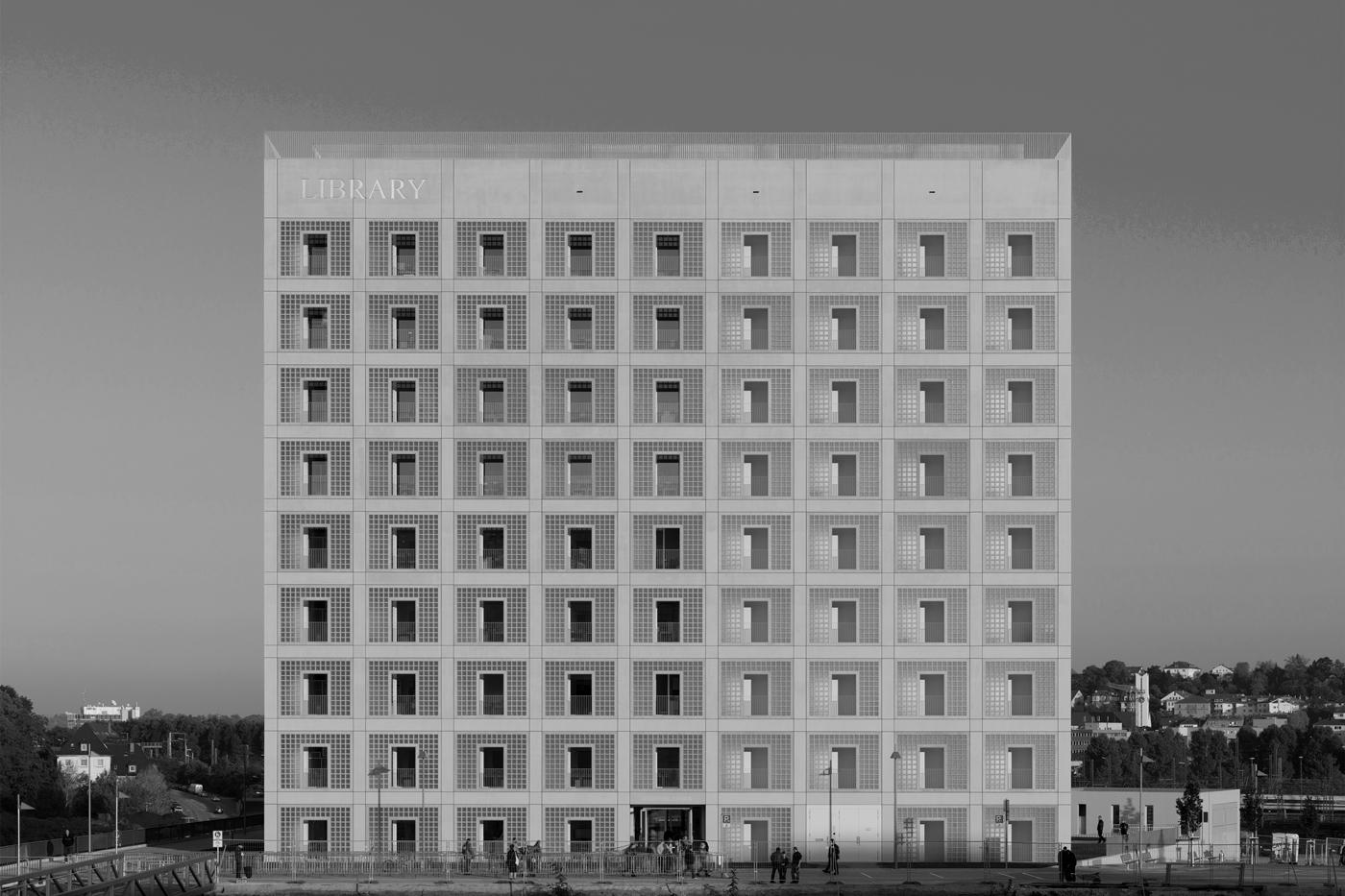 Stadtbibliothek Stuttgart, Foto: © Stefan Müller